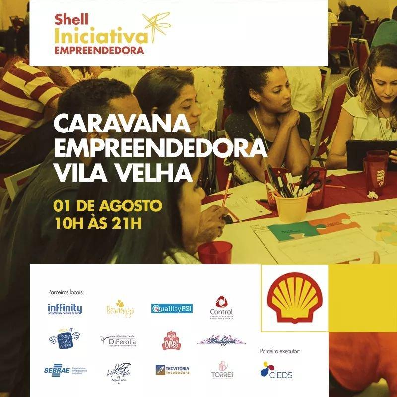 FB IMG 1532954182818 - Quallity Psi na Caravana Empreendedora do Shell Iniciativa Empreendedora
